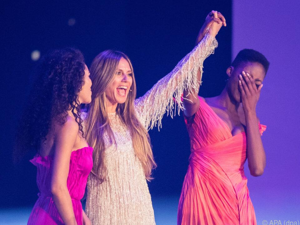 Heidi Klum verkündete die Siegerin, mit der alle gerechnet hatten
