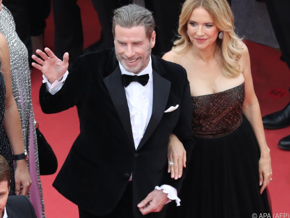Travolta brachte seine ganze Familie nach Cannes