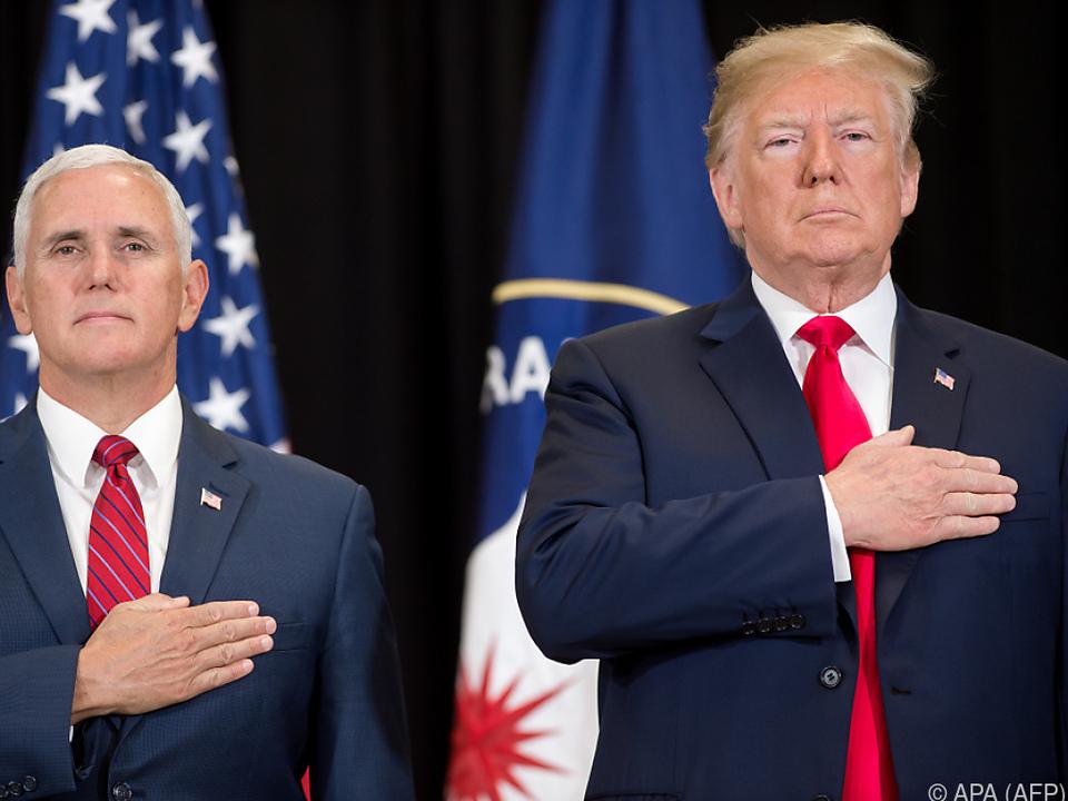 Trump und auch Pence gehen davon aus, dass es ein Treffen gibt