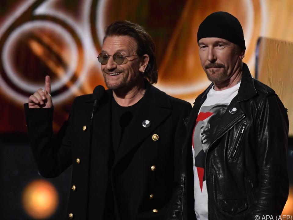 U2 spielen auch gerne mal im intimen Rahmen