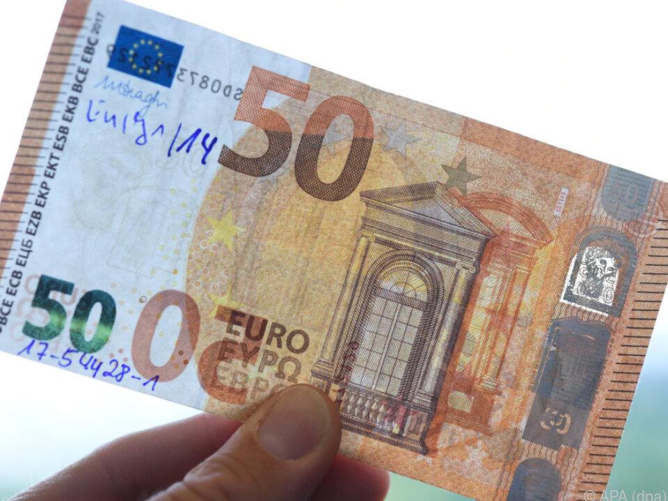 Unter dem Falschgeld waren auch elf Mio. Euro