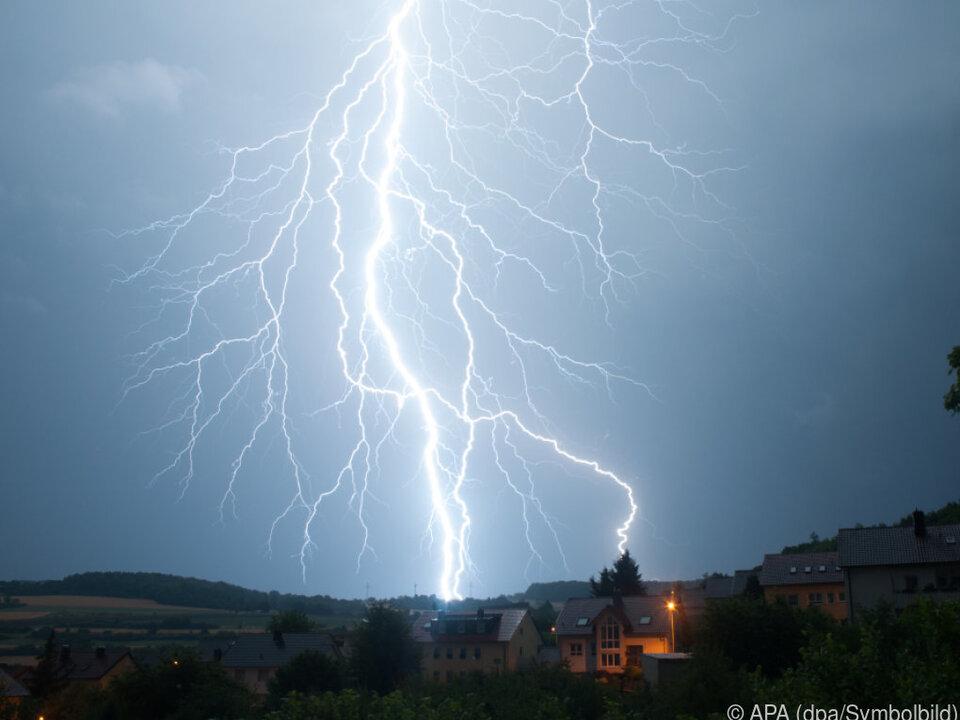 Unwetter suchten einige Regionen in Ostösterreich heim