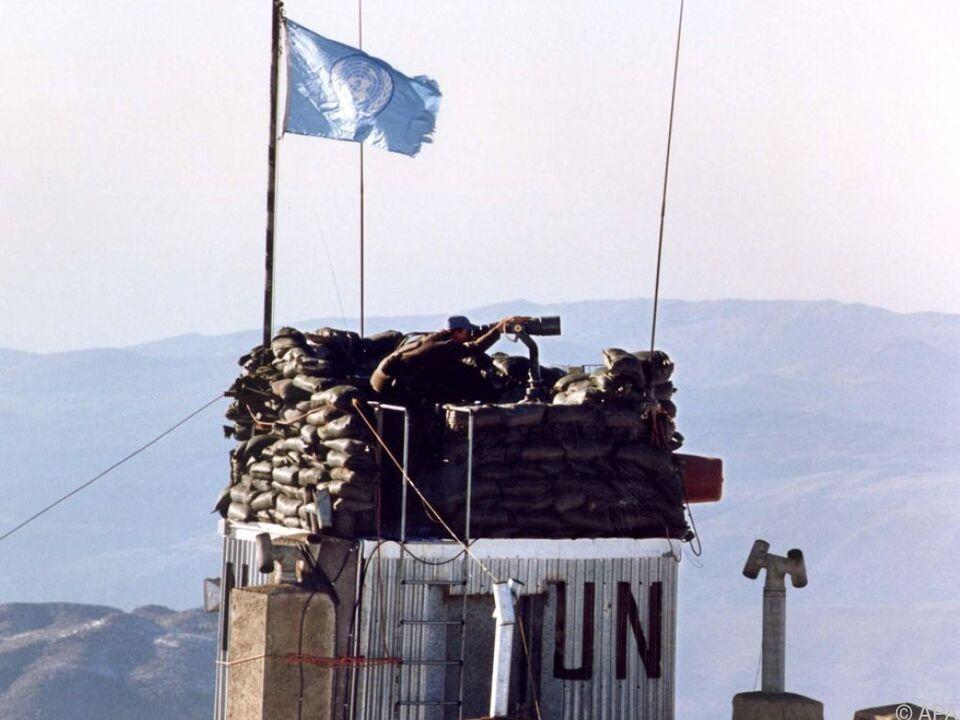 Verhalten österreichischer UNO-Soldaten im Fokus der Kritik