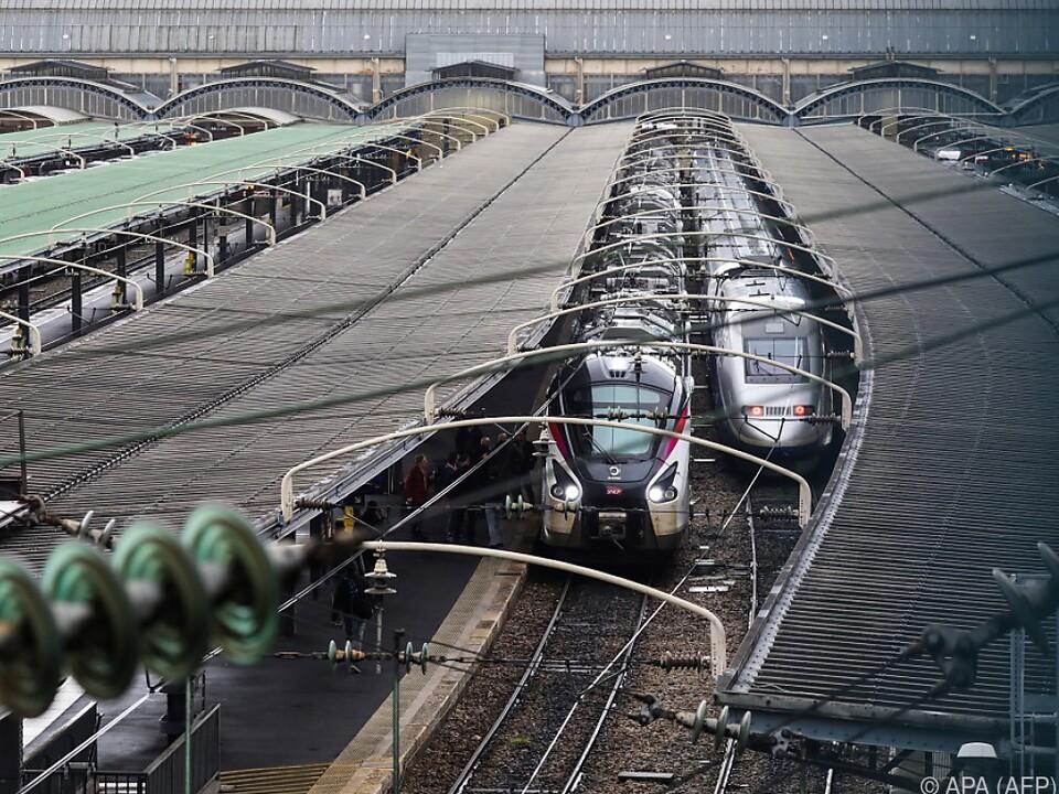 Viele Züge werden wieder still stehen