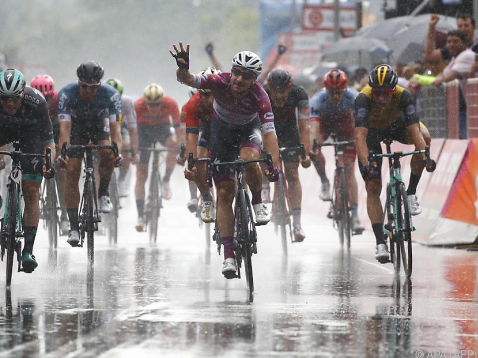 Vierter Etappensieg für Viviani beim diesjährigen Giro