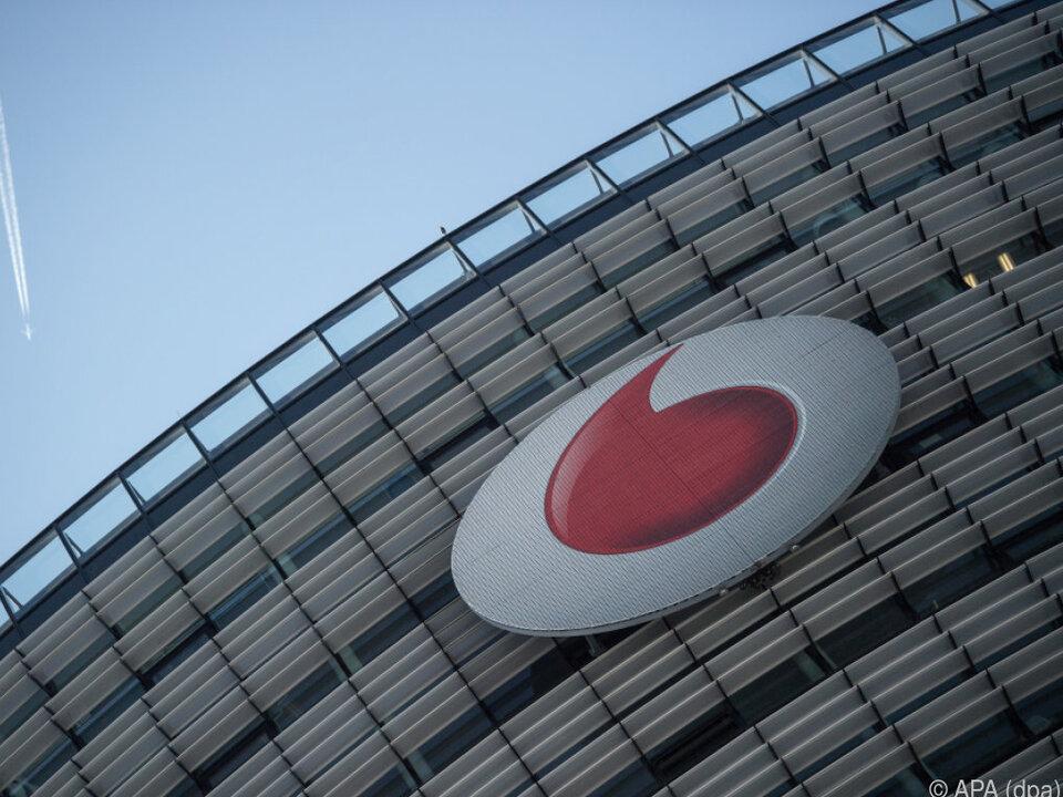 Vodafone-Deutschland-Zentrale in Düsseldorf
