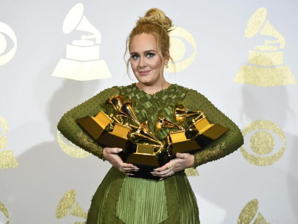 Vom Musik-Biz hat Adele die Schnauze voll
