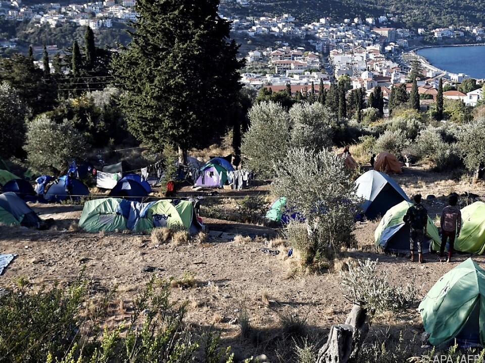 Vor allem die Grenze Griechenland-Türkei ist ein Schwachpunkt