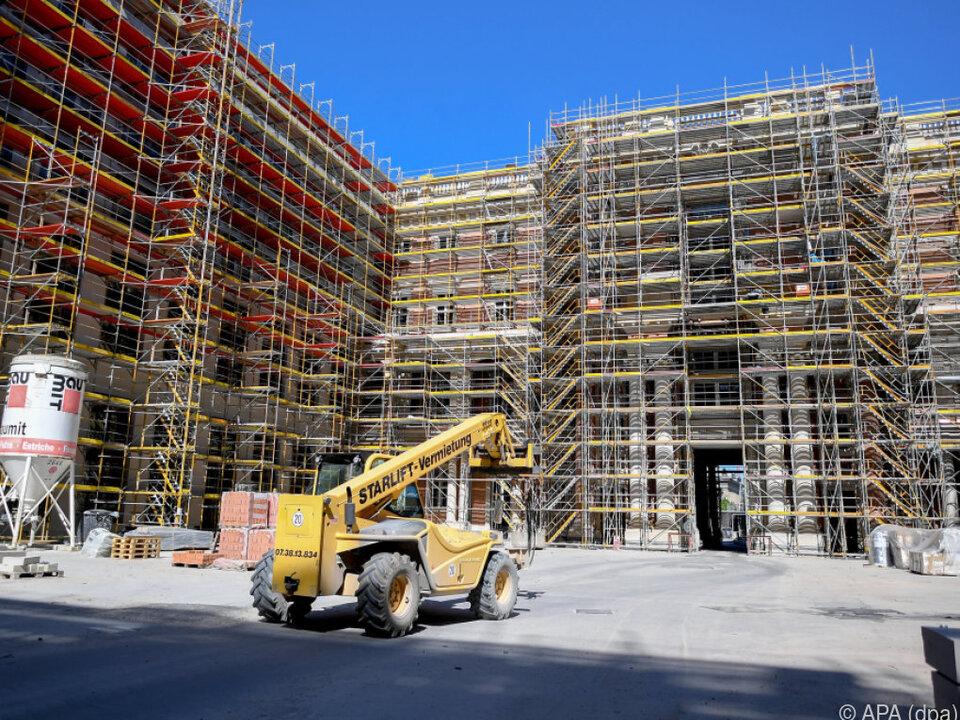 Wiederaufbau des historischen Stadtschlosses wird gefördert