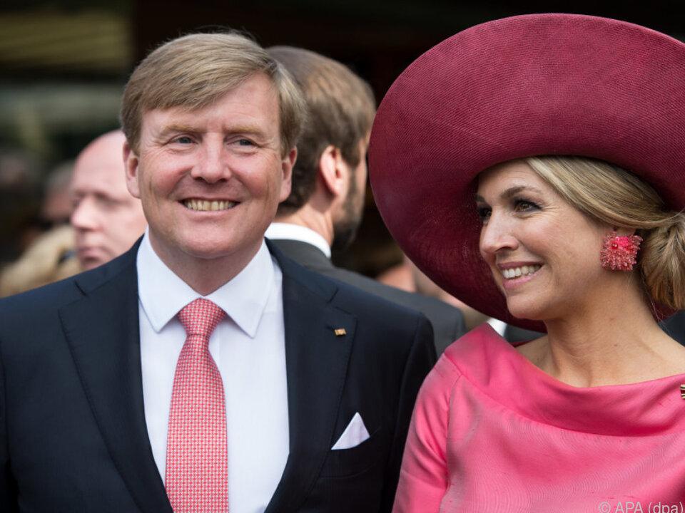 Willhelm-Alexander und Maxima sind auf Staatsbesuch