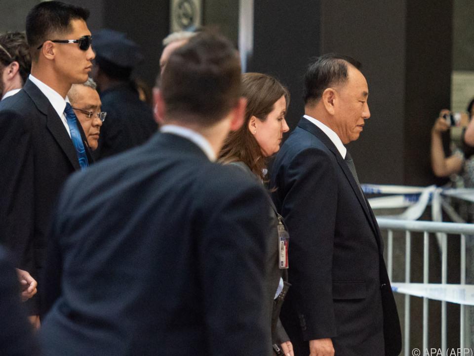 Yong-chols Besuch hat auch symbolische Wirkung