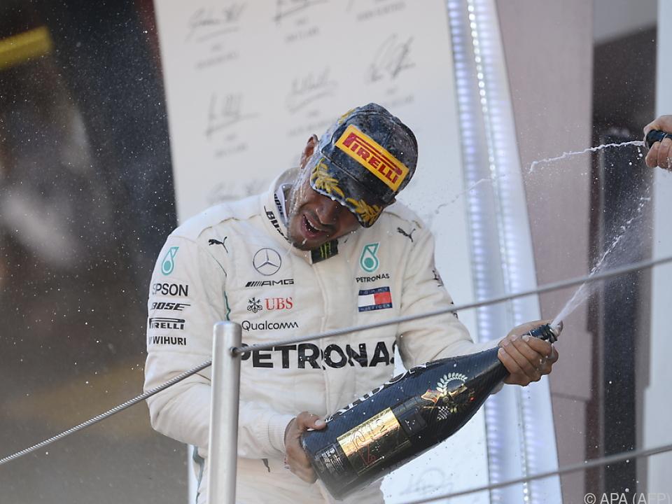 Zweiter Sieg in Folge für Hamilton