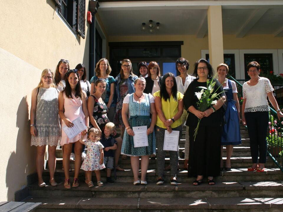 Tagesmütter Diplom 2018