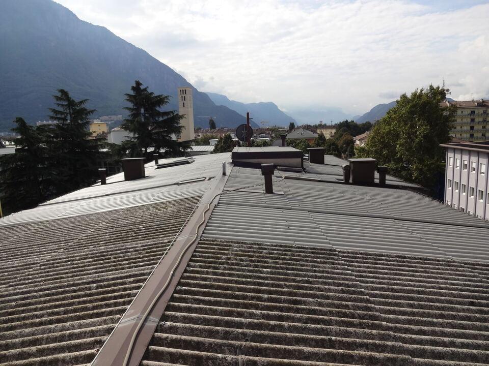 Asbest Dach