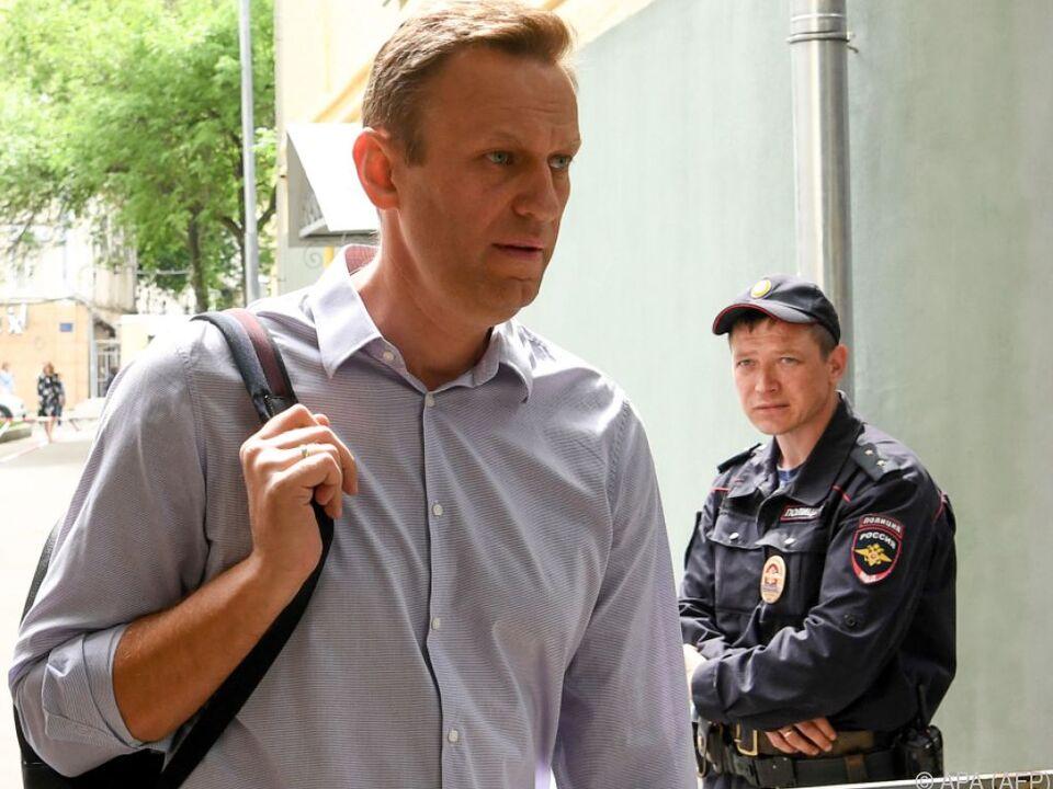 Alexej Nawalny wurde pünktlich zur WM freigelassen