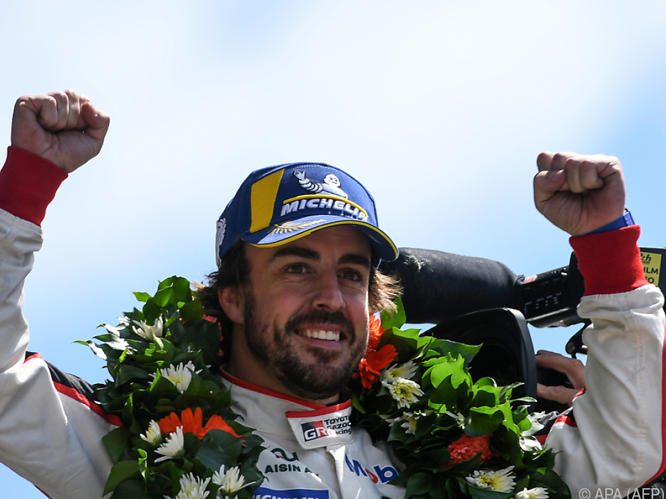 Alonso spitzt nun auf einen Sieg in Indianapolis