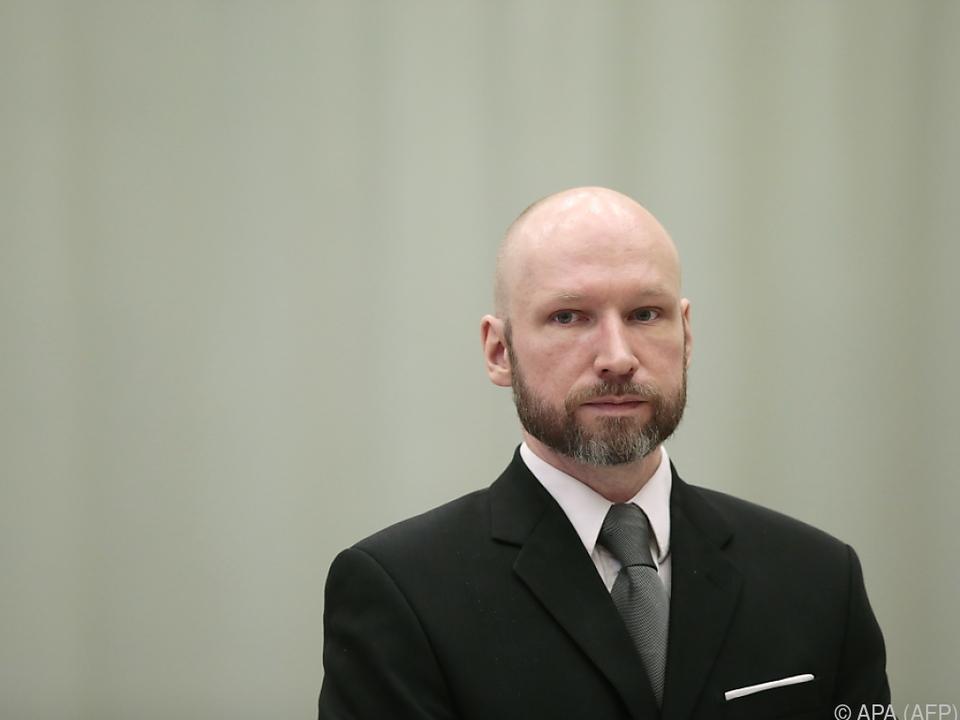 Anders Behring Breivik spricht von unmenschlichen Haftbedingungen