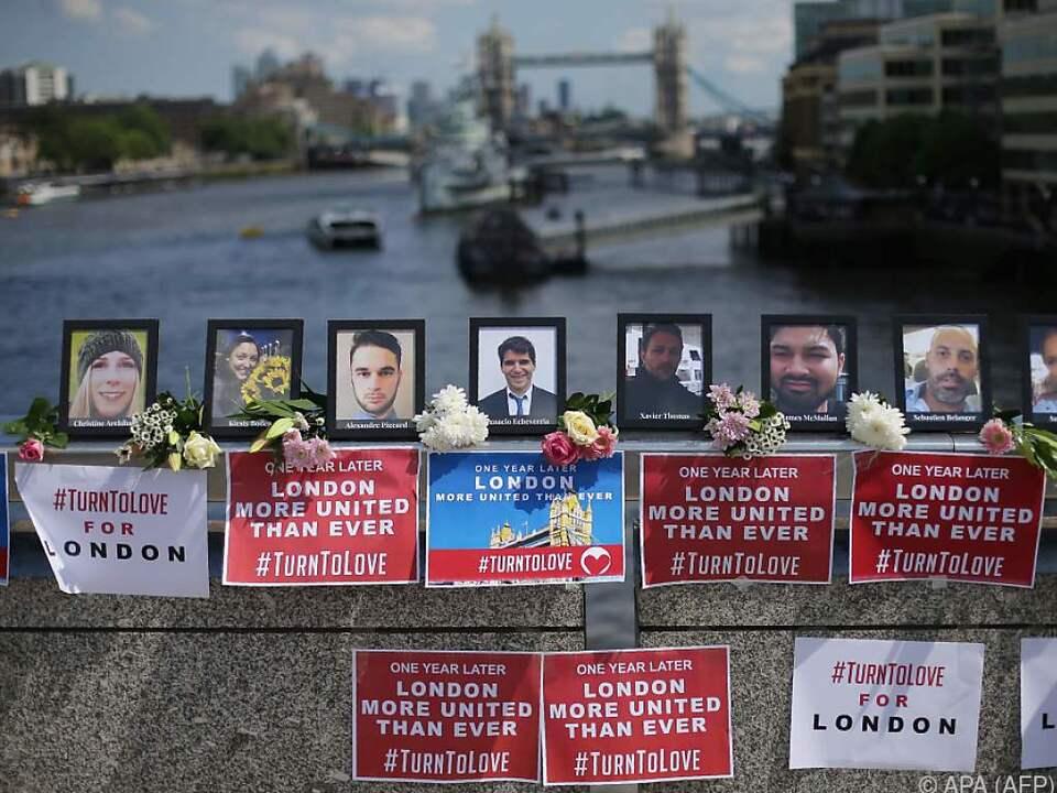 Anschlag auf der London Bridge genau vor einem Jahr