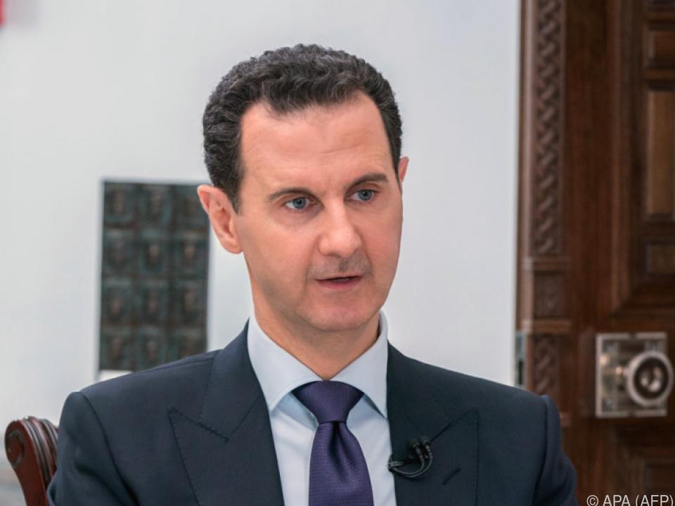 Assad sprach \