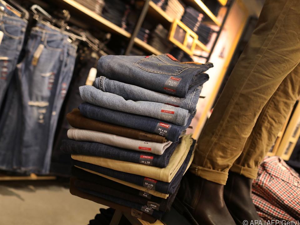 Auch auf Jeans werden Zölle eingehoben