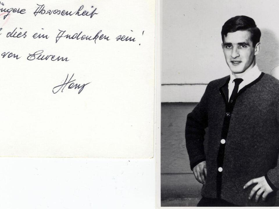 Auer Hans im Gefngnis mit Text