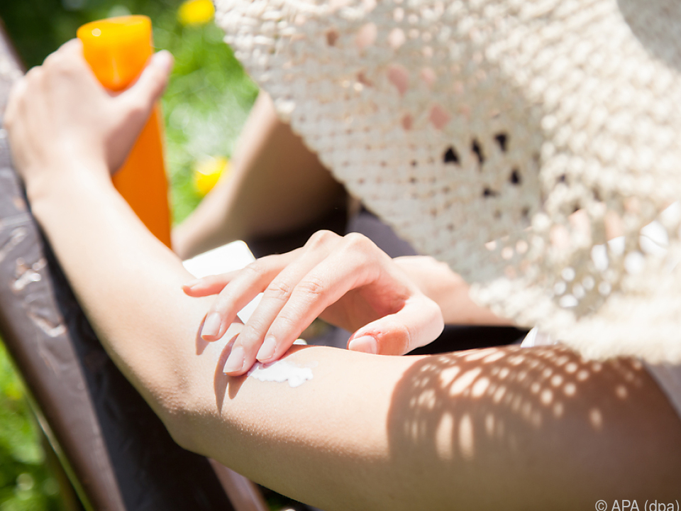 Auf Sonnenschutzmittel sollte man sich verlassen können sonnencreme urlaub sonne sommer