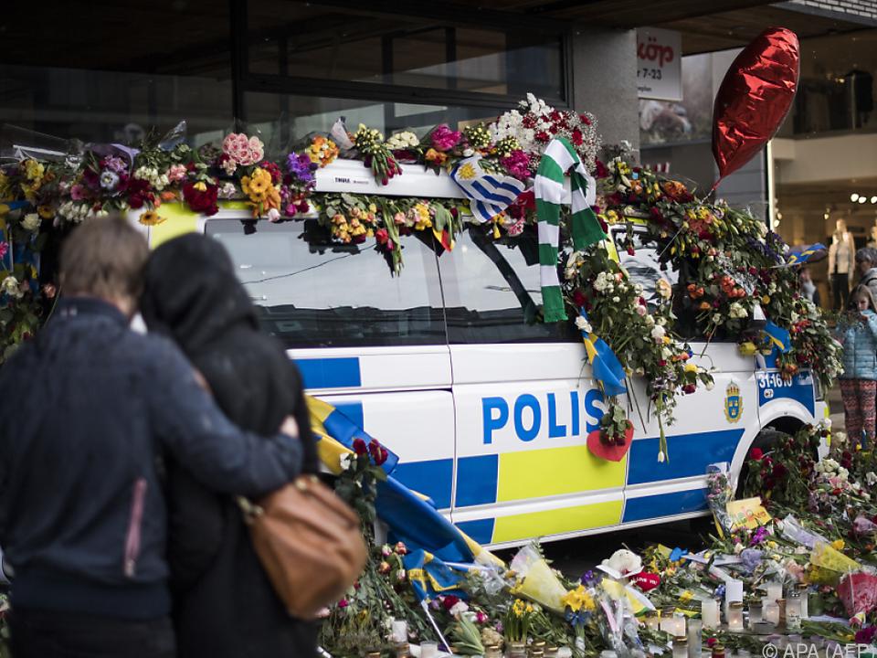 Bei dem Anschlag starben fünf Menschen