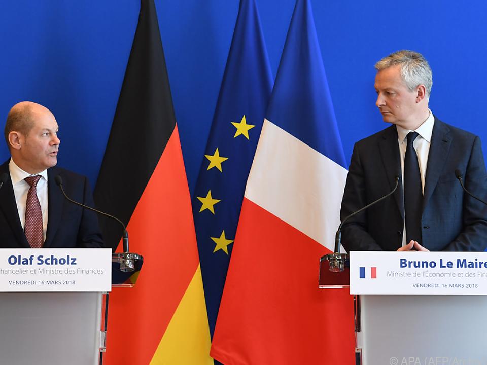 Bei den Gesprächen zur Euro-Reform wurden Fortschritte erzielt