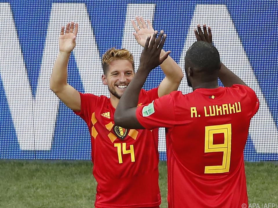 Belgien brauchte gegen Panama eine Halbzeit Anlauf