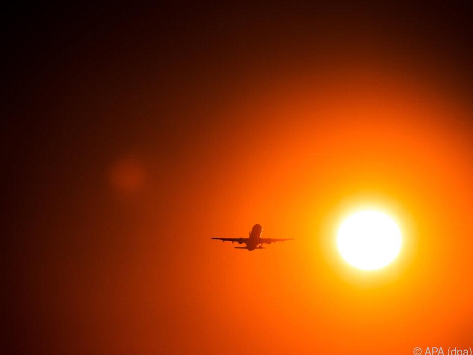 Bevorzugtes Reisemittel ist das Flugzeug