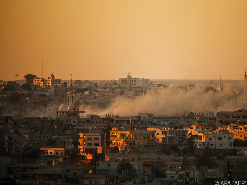 Blick über Daraa