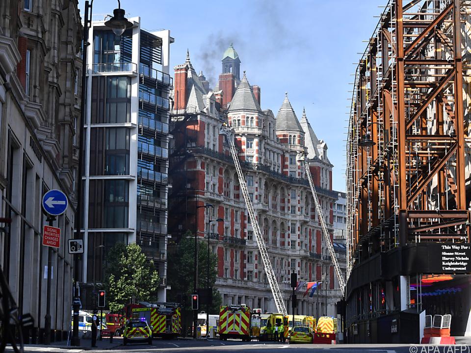 Brand in London war schnell gelöscht