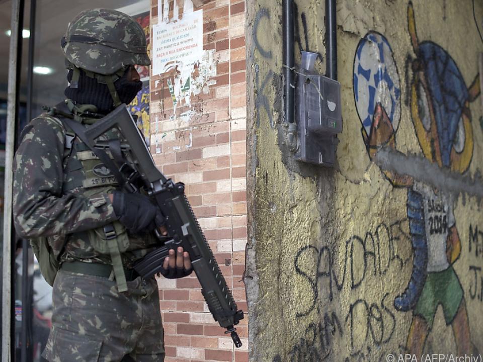 Brasilianische Sicherheitskräfte sind für ihre Brutalität bekannt