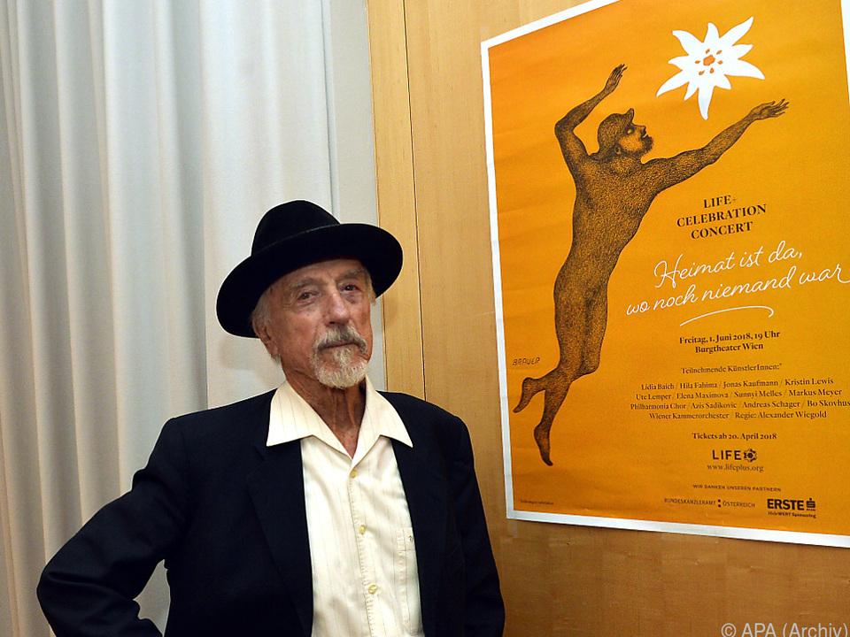 Brauer-Konzertplakat wird versteigert