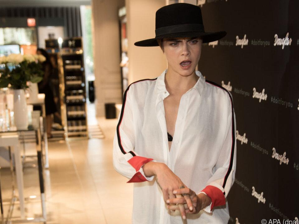 Cara Delevingne möchte nicht immer nur schön aussehen