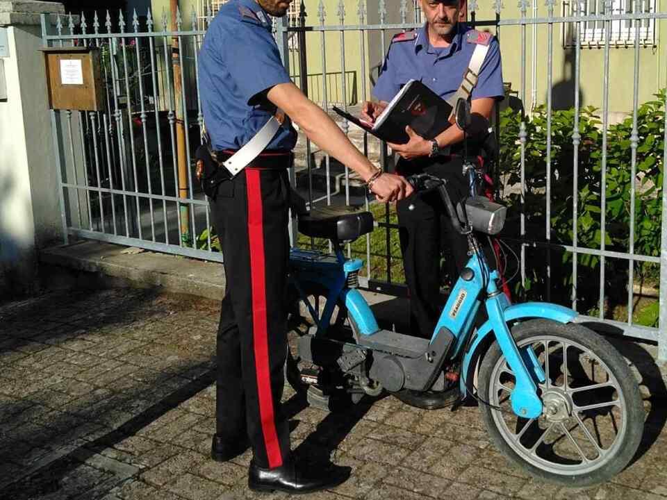 Carabinieri ricettazione Ciao