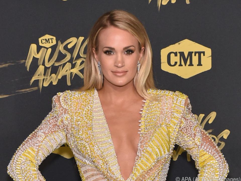 Carrie Underwood freut sich über Preis