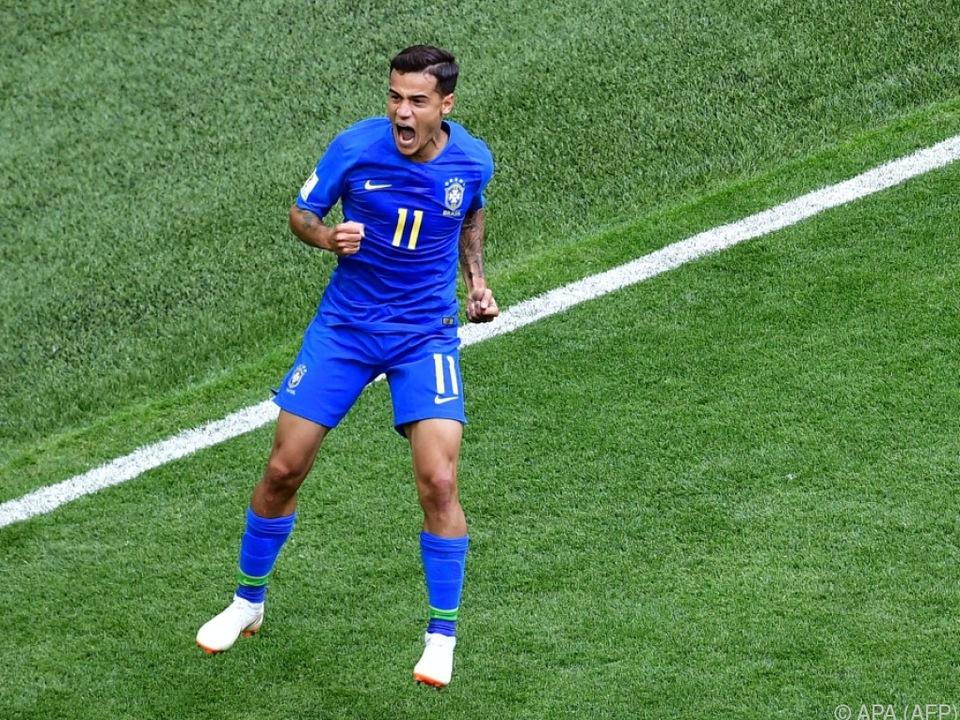 Coutinho war bisher Brasiliens Bester