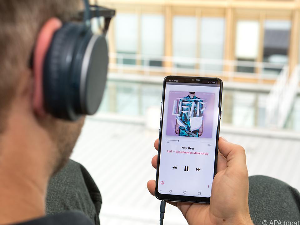 Glasklarer Klang über Kopfhörer