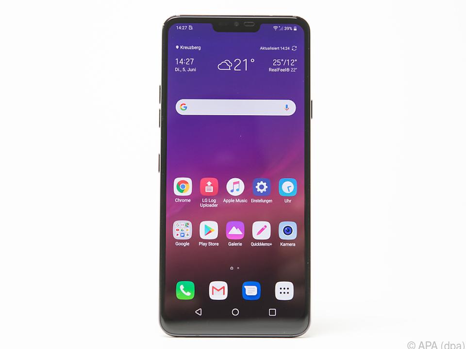 Das LG G7 ThinQ kann mit einigen interessanten Details aufwarten