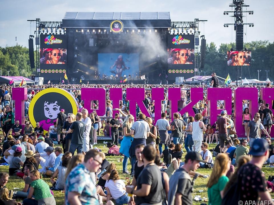 Das Pinkpop-Festival wird jährlich von Zehntausenden besucht