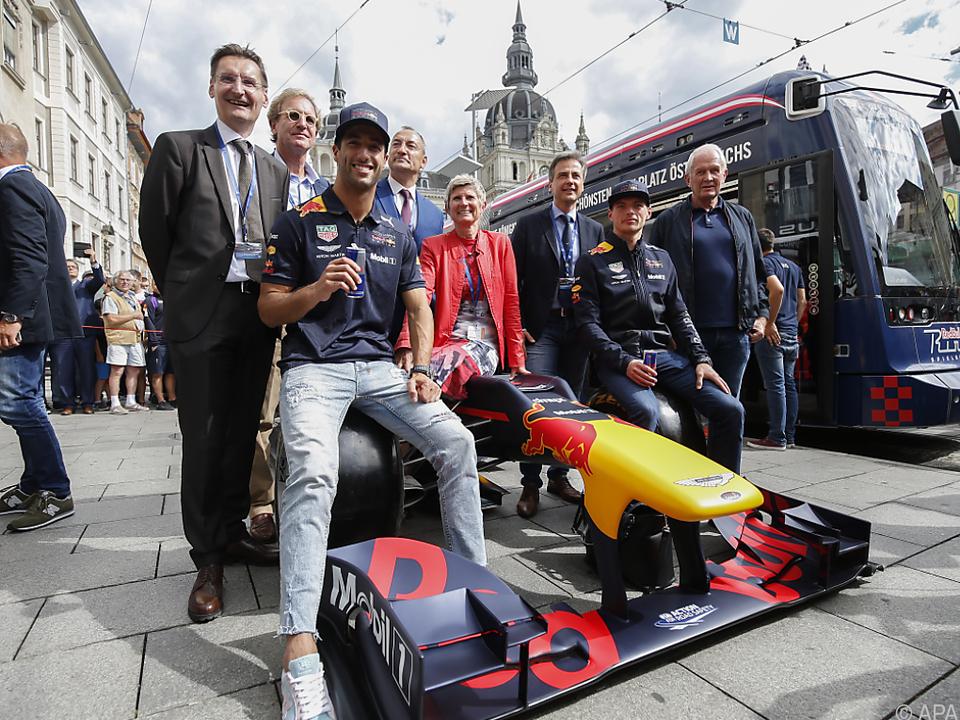 Das Red-Bull-Team hat sich viel vorgenommen
