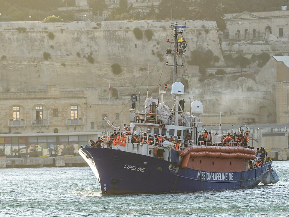 Das Rettungsschiff \