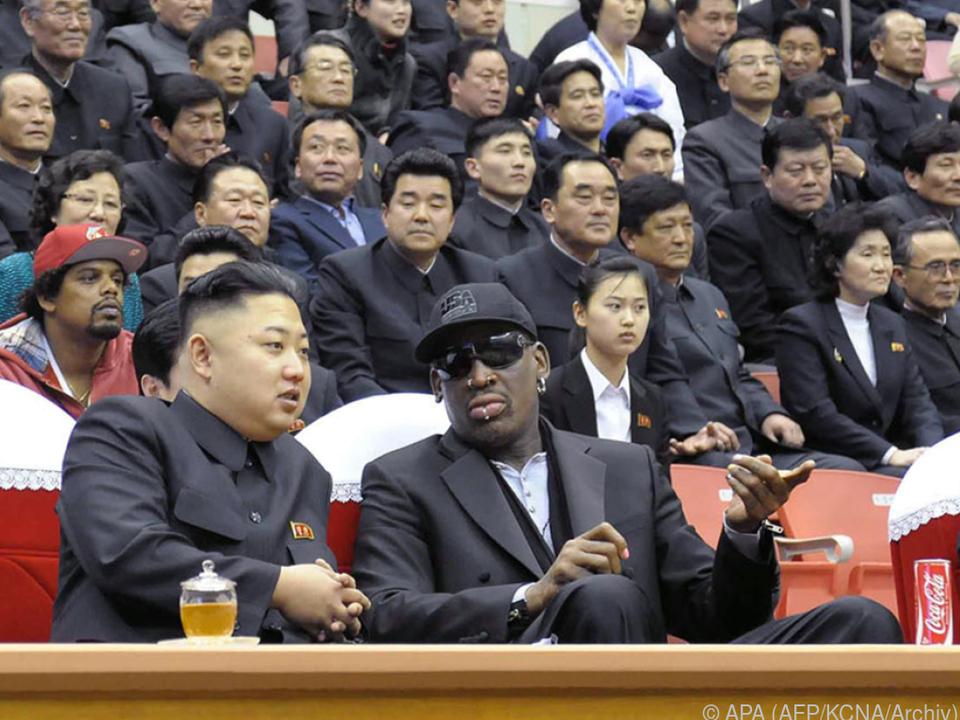 Der Diktator und sein Freund, der Ex-Basketball-Star