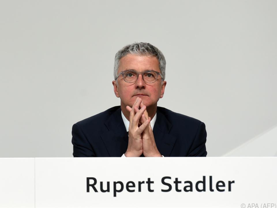 Der Audi-Chef sitzt in U-Haft