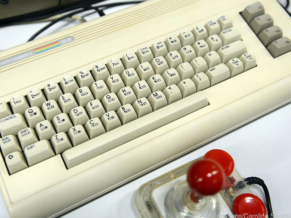 Der 1982 auf den Markt gebrachte Commodore 64 ist immer noch sehr populär
