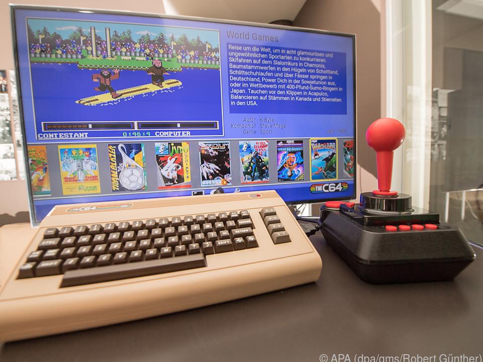Der C64 ist als verkleinerte Neuauflage für moderne Fernseher zurück