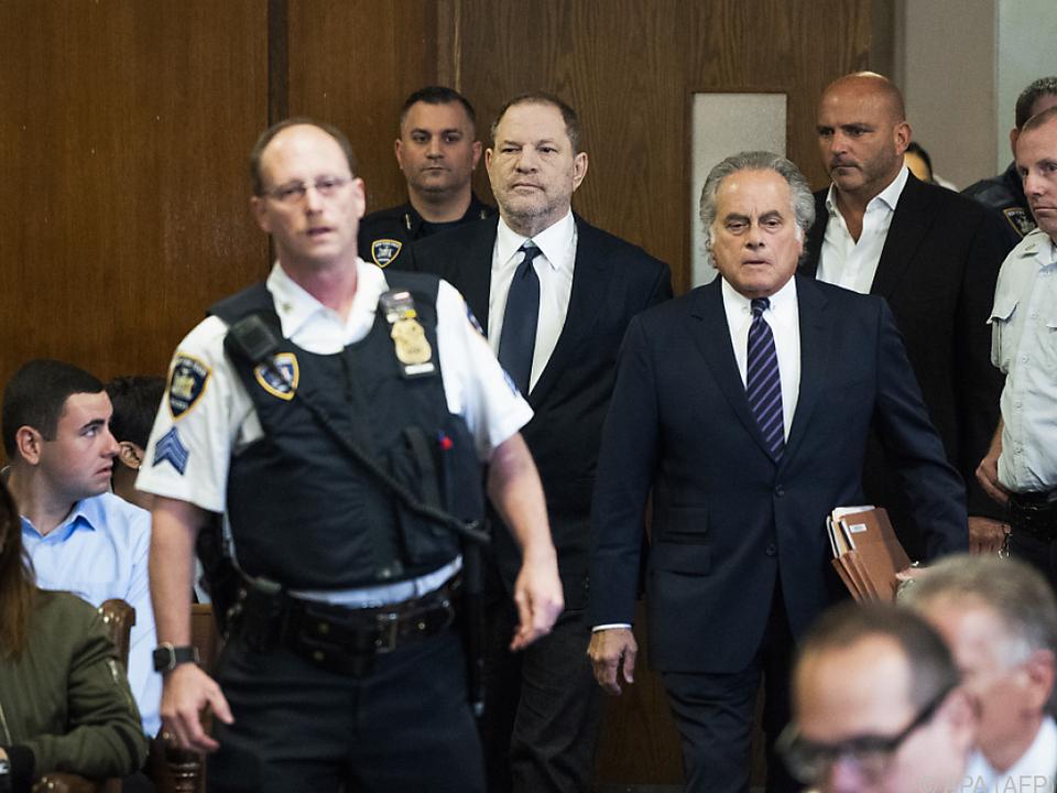 Harvey Weinstein im Gerichtssaal