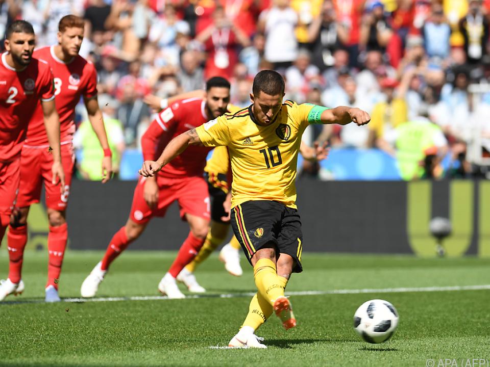 Der Elfmeter von Hazard war der 13. der WM