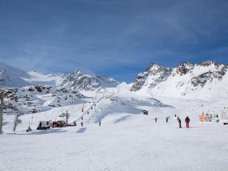 Der schneereiche Winter war gut für die Gletscher